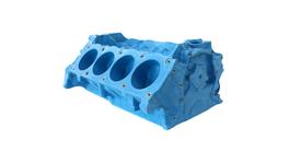 P-Ayr Replica Plastic Engine Block 289-302W W/O Heads
