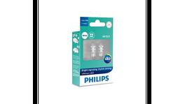 Philips Ultinon LED T10 Wedge Globe 12V White 11961ULWX2
