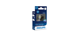 Philips Ultinon LED Festoon Globe 30x14mm 12V 1W 6000K 129416000KX1