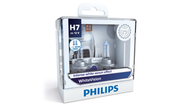 Philips White Vision H7 Globe H7 12V 55W (2Pk) 12972WHVSM