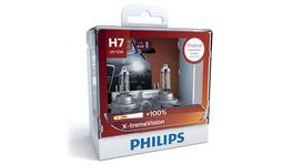 Philips X-treme Vision +100 H7 Globe 12V 55W (2Pk) 12972XVSM