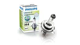 Philips 12342LLECOC1 - Eco Vision H4 Globe 12V 60/55W Longlife