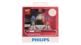 Philips Power Vision H7 Globe 12V 55W (2Pk) 12972PWVS2