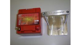 Plazmaman Odyssey PC925 Battery & CNC Billet Clamp Kit Fits BA BF 4Ltr