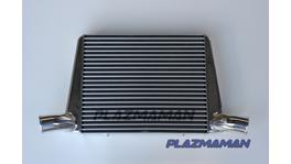 Plazmaman Intercooler 800hp (incl support bar) 450x400 Raw Fits FG FGX XR6 Turbo