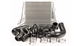Process West Intercooler Kit Fits Ford Falcon FG Stage 2 (Raw Cooler - Black Piping) PWFGIC02