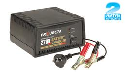 PROJECTA 2.7A Battery Charger 6/12V 2 Stage Auto - AC400