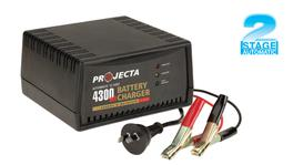 PROJECTA 4.3A Battery Charger 12V 2 Stage Auto AC600