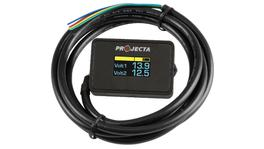 PROJECTA Dual Battery Volt Meter DBM100