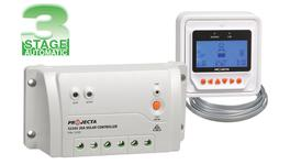 PROJECTA 20A 12/24V Solar Charge Controller 3 Stage Auto W/ Remote SC320D