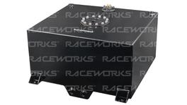 Raceworks Fuel Cell (Black) With Sender 510x460x260mm 15 Gallon (57L)