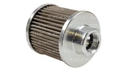Raceworks Large An-10 Breather Polished