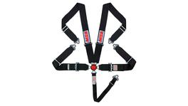 Raceworks MSA Racing Harness 5 Point Cam Lock Black CAMS/SFI Approved