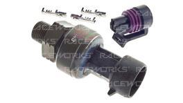 Raceworks 250 PSI Ti Fuel And Oil Pressure Sensor 1/8 Npt