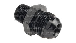 """Raceworks An-10 Male Flare To Npt 3/8"""" Straight"""