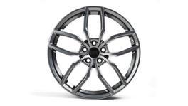 "RacingLine VWR600360GUN - VWR R360 Wheel 19x8.5""Gunmetal Grey ET44 5x112 (Set of 4)"