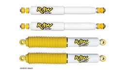 Raw 4x4 Shock Absorber Set Nitro & Nitro Max RAWKIT-3