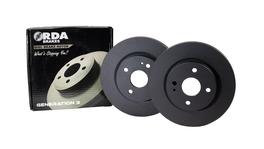RDA OE Replacment Brake Rotor Pair Front RDA7223