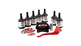 Red Line V-Twin 20W50 Power Pack Kit For Evolution & Twin Cam 90226
