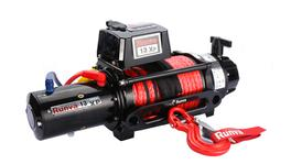 Runva 4X4 Winch 13XP Premium 12V With Synthetic Rope IP67 Protection