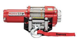 Runva ATV Winch 3.5P 24V With Steel Cable