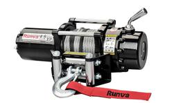 Runva ATV Winch 4.5X 12V With Steel Cable