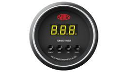 "SAAS Muscle Series 2-1/16"" Turbo Timer Digital Auto Black SG-DTT52B"