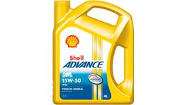 Shell Advance 4T AX5 Oil 15W50 SL/MA 4L
