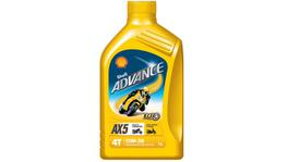 Shell Advance 4T AX5 15W50 SL/MA Oil 1L Box 12