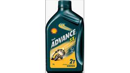 Shell Advance SX 2T Oil 1L Box 12