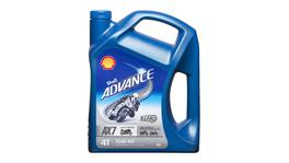 Shell Advance 4T AX7 Oil 10W40 SM/MA2 4L