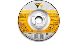 sia Abrasives Grinding Wheel A20/24P BF27 STEEL 125 x 6 x 22.2mm 10Pk