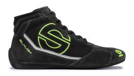 Sparco Slalom RB-3 Race Shoes Black/Green 36 00123536NRVF