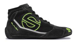 Sparco Slalom RB-3 Race Shoes Black/Green 48 00123548NRVF