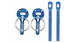 Sparco Bonnet Pin Kit Blue 01606AA