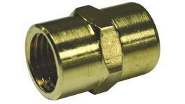 """SP Tools Brass 1/4""""F X 1/4""""F Hex Socket"""