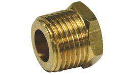 "SP Tools Brass 1/4""F X 1/2""M Reducing Bush"