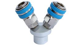 SP Tools Two Way Coupling - One Touch - Carded
