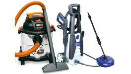 SP Tools 20L 1250w Wet & Dry Vacuum & 1740psi Pressure Washer Combo SP2020LE