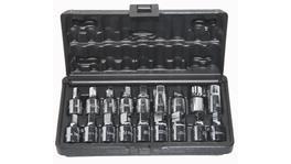 "SP Tools Oil Drain Plug Key Set 3/8"" -18Pcs"