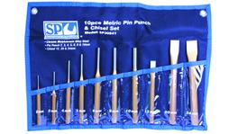 SP Tools Pin Punch And Chisel Set -10Pcs