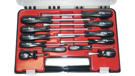 SP Tools Screwdriver Set 12 Pc (Phillips/Slotted)