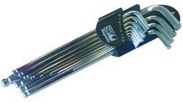 SP Tools Key Set Magnetic 13Pc Metric Ball Drive Hex