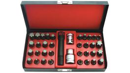SP Tools Bit Set 3/8 & 1/2Dr 37Pc Professional