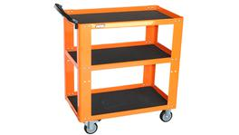 SP Tools Trolley Orange Professional 3 Shelf