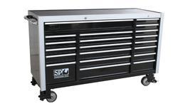 """SP Tools Roller Cab Black Custom """"Sumo"""" 20 Drawer"""