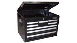 SP Tools Tool Box Black Custom 8 Drawer