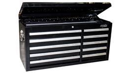 SP Tools Tool Box Black Custom 10 Drawer