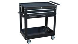 SP Tools Trolley Black Custom 2 Drawer