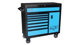 SP Tools Roller Cab Black/Blue Custom 8 Drawer 1 Cabinet